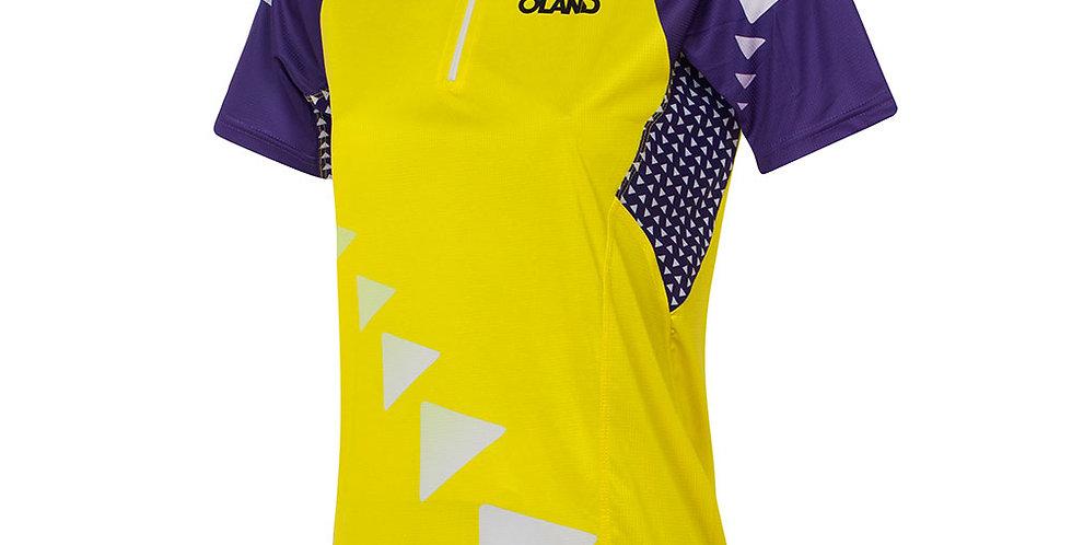 PRO-Elite Orienteering Jersey - yellow wоmen's