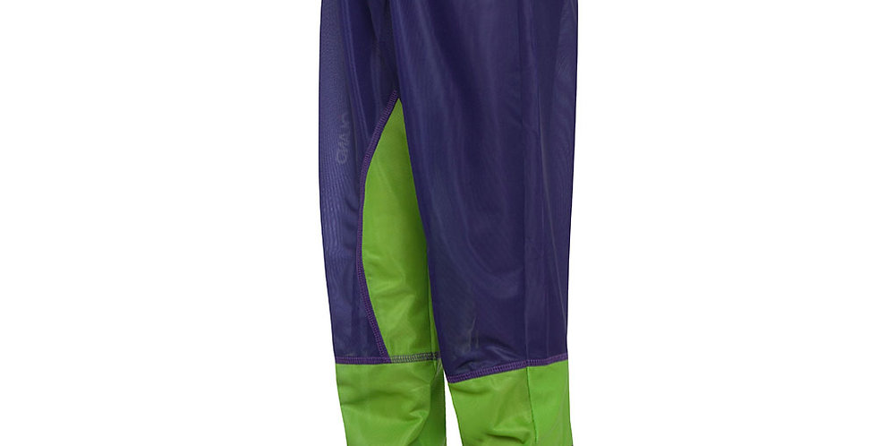 Orienteering Pants - Blue/Green kids