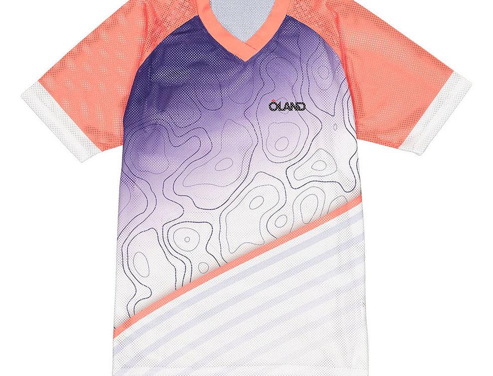 Contour - Mesh Orienteering Jersey - pink women's