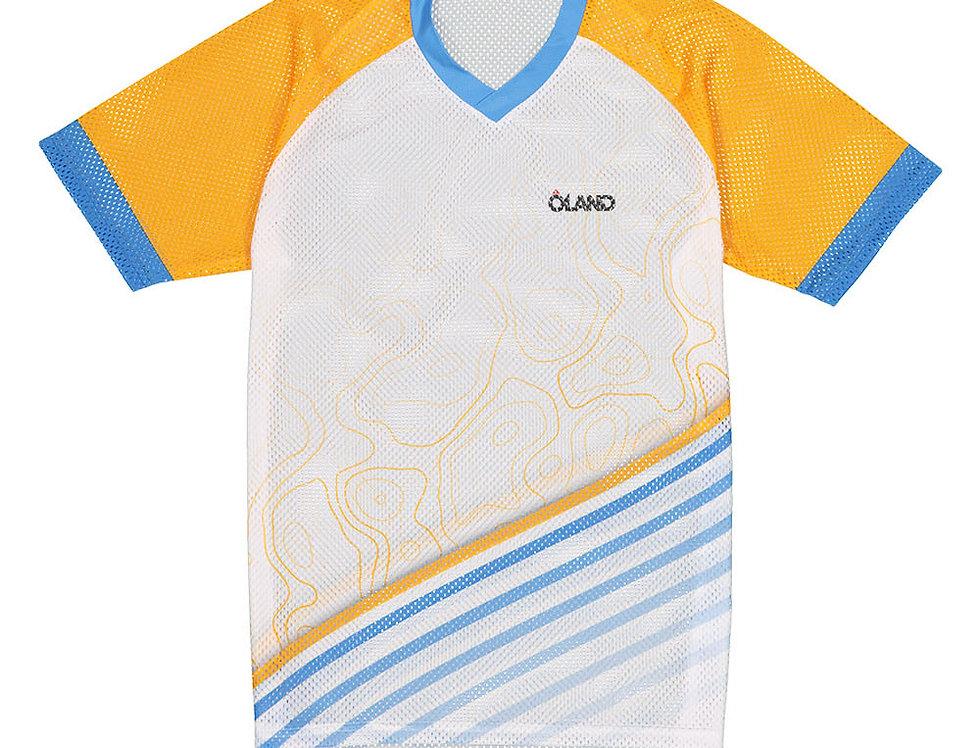 Contour - мужская беговая футболка из сетчатого материала