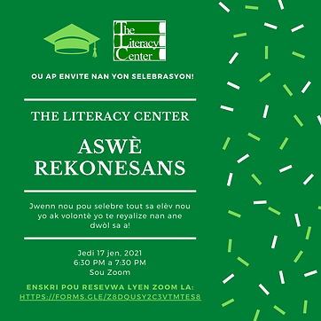 Haitian Creole Evening of Recognition 20