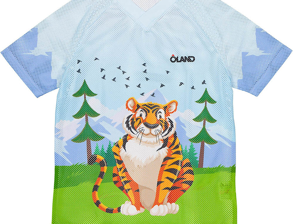 Orienteering Mesh Jersey Kids - Tiger