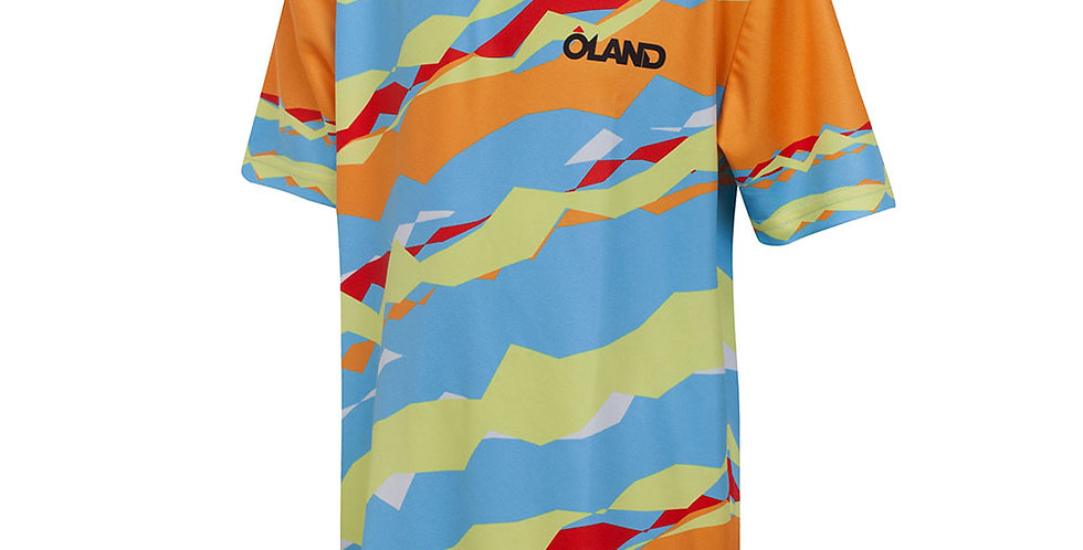 Orienteering Jersey - Blue/Orange kids