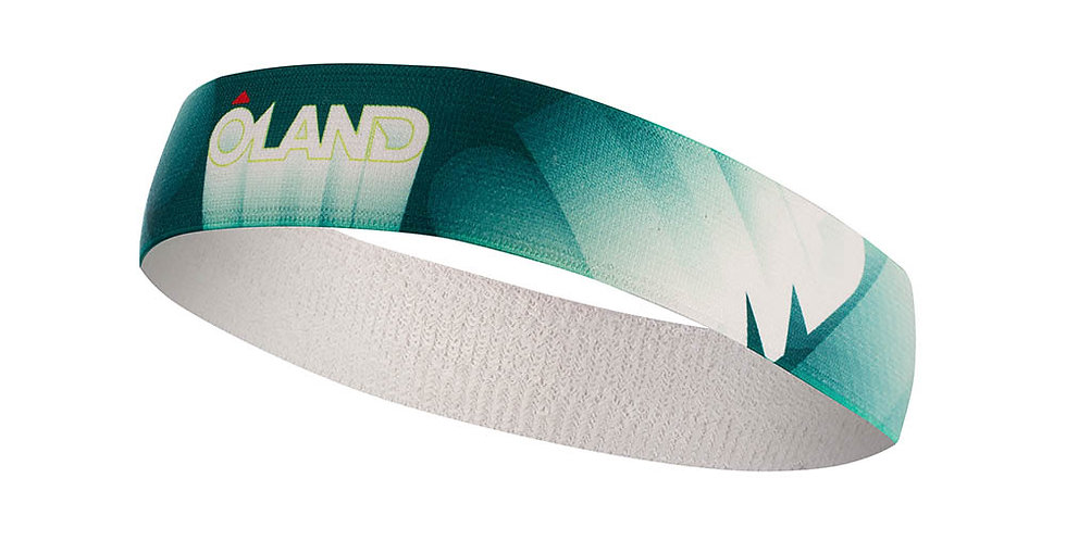 Headband Oland - dark green