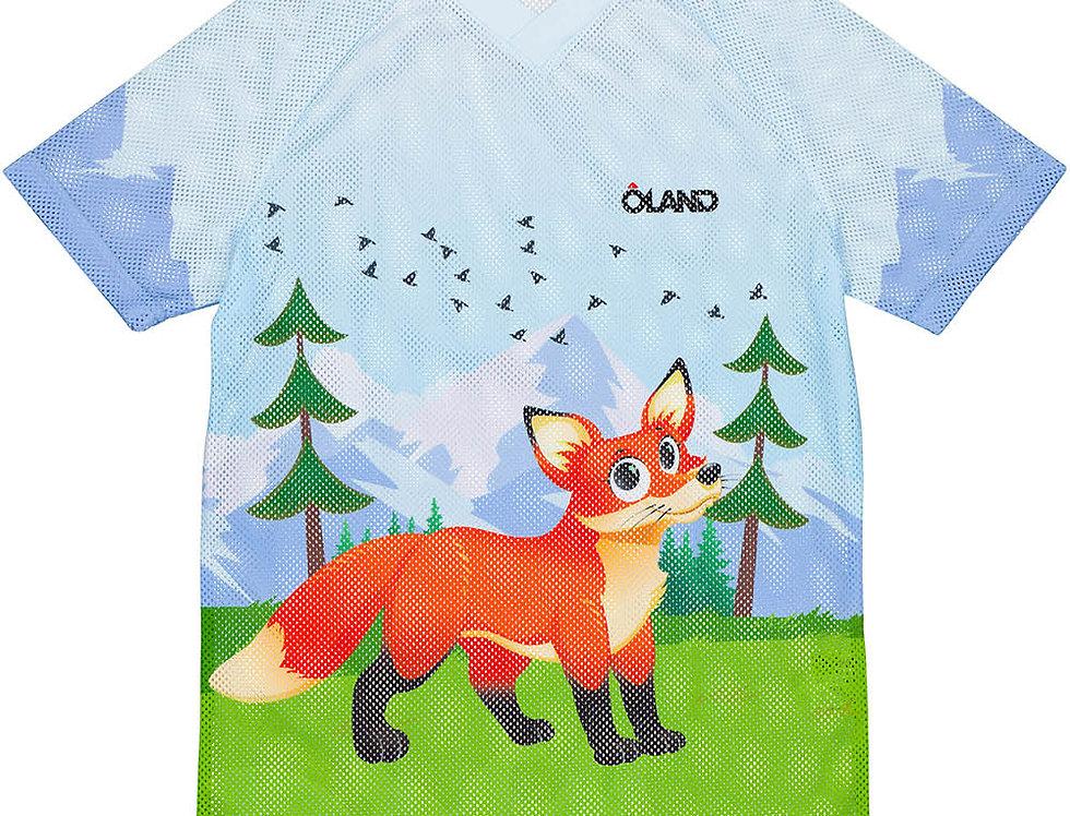 Orienteering Mesh Jersey Kids - Fox