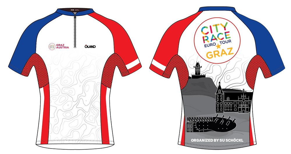 City Race Euro Tour Graz Official T-shirt