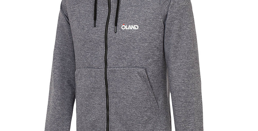 Oland Cotton Sweatshirt - Grey melange men's