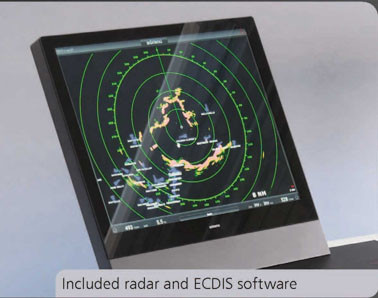 Radar ECDIS integration