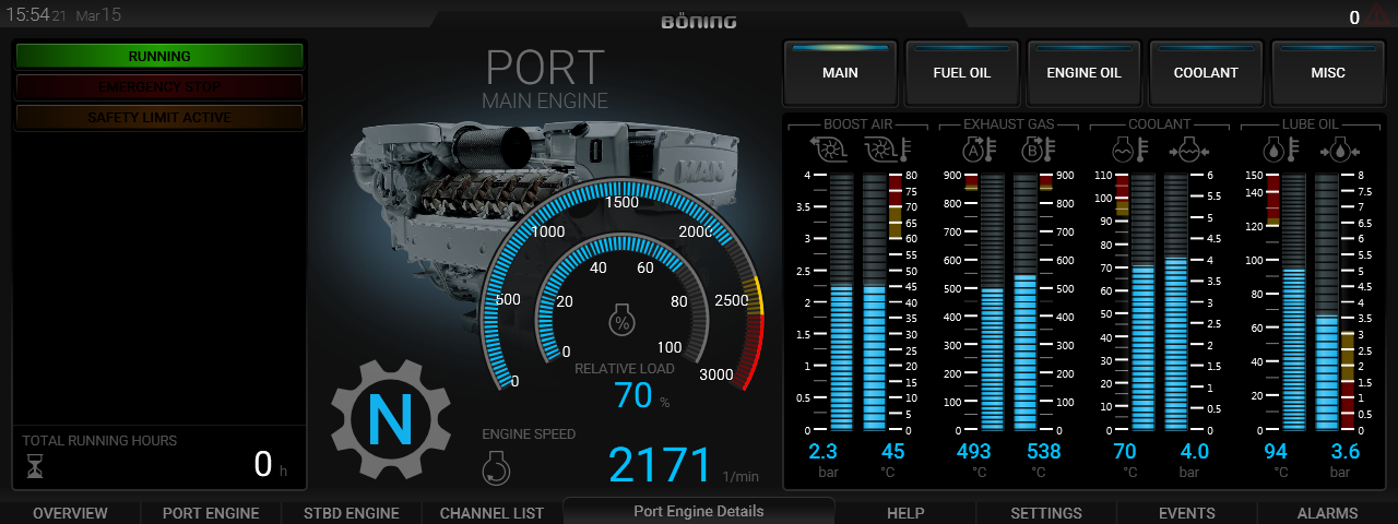Port Engine Detail 5