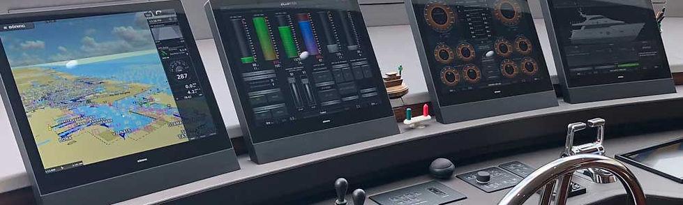 Böning Boening Smart Bridge control captain yacht ship furuno catterpilar MTU engine MAN volvo NMEA automation marine octoplex maretron palladium praxis kongsberg NMMA USSA