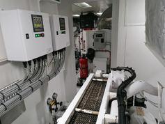 Marine engine display