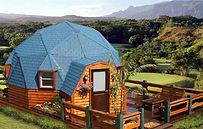 купольный дом геодезический купол