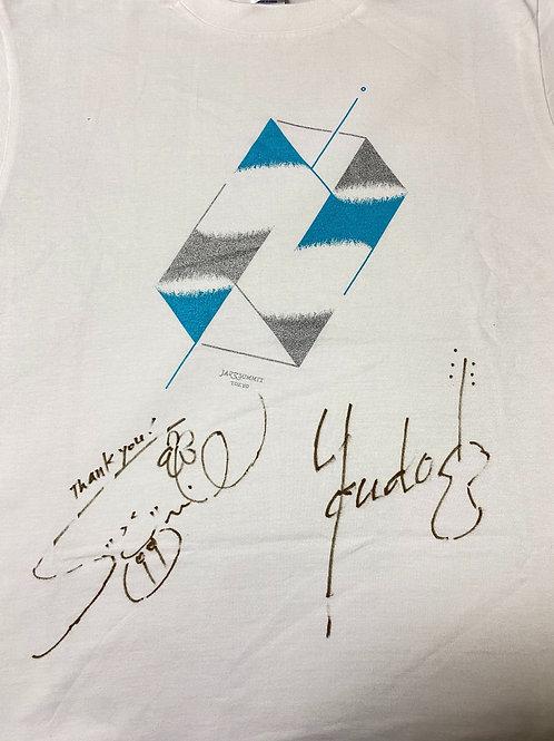 《限定1点のみ》Zclocca Quokka サイン入りTシャツ(白)