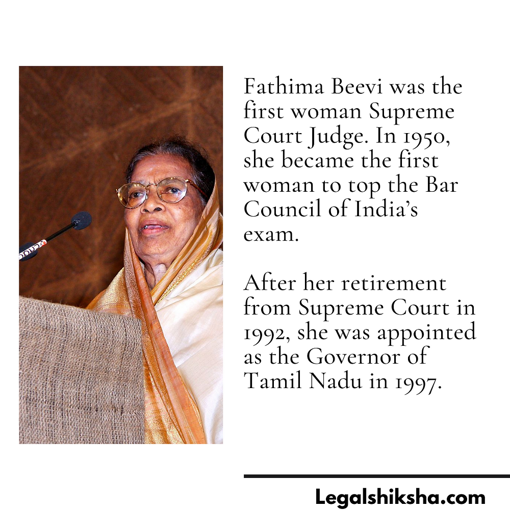 Pic Credits: https://en.wikipedia.org/wiki/Fathima_Beevi