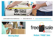 Sign up for Habitat ReSale Center emails.