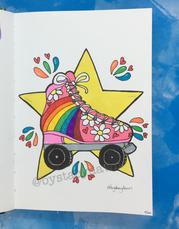 Rollerskate Hippie