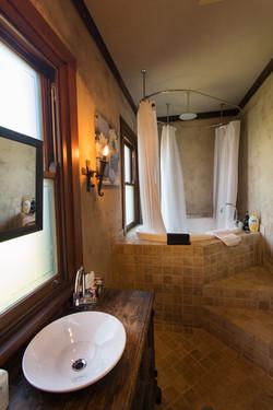 Spa Bath to Bedroom 1