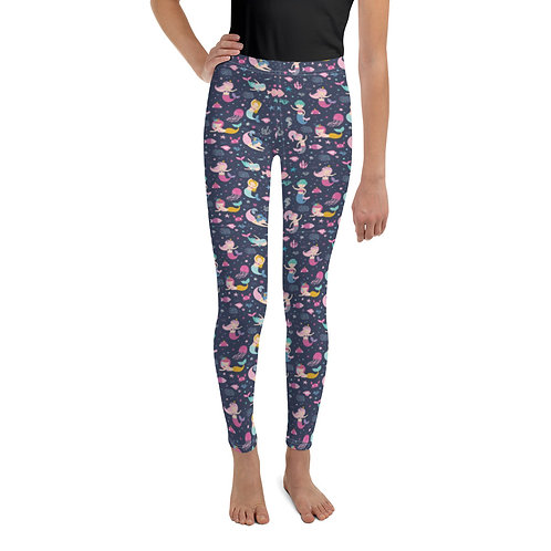 Playing Mermaids Youth Leggings