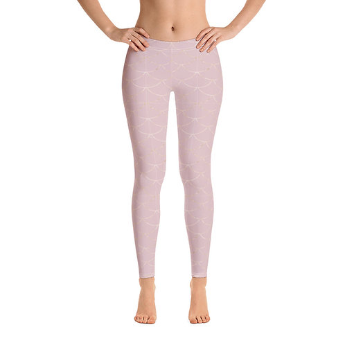 Rose Gold Mermaid Legging