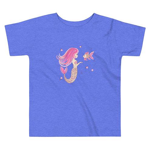 Mermaid BFF Toddler Short Sleeve Tee