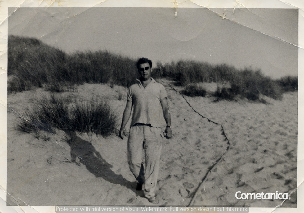 William Warbrick, grandfather of Cometan in the 1960s