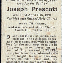 Joseph Prescott mass card.JPG