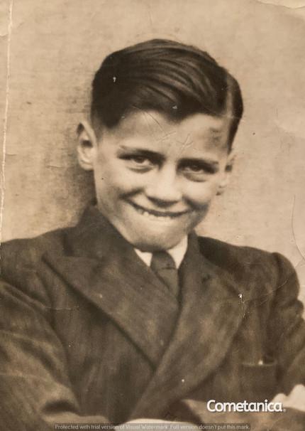 Maternal Grandfather of Cometan, Bill Warbrick