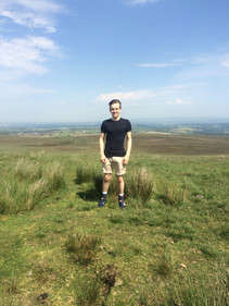 Cometan on his 18th Birthday at Great Hill, Lancashire