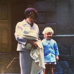Great Aunt Monica & Karen Warbrick, aunt