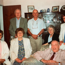 Grandfather of Cometan With Family Membe