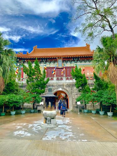 Po Lin Monastery, Hong Kong, August 2019 by Cometan