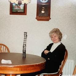 Hilda Warbrick In The Kitchen of Brookla