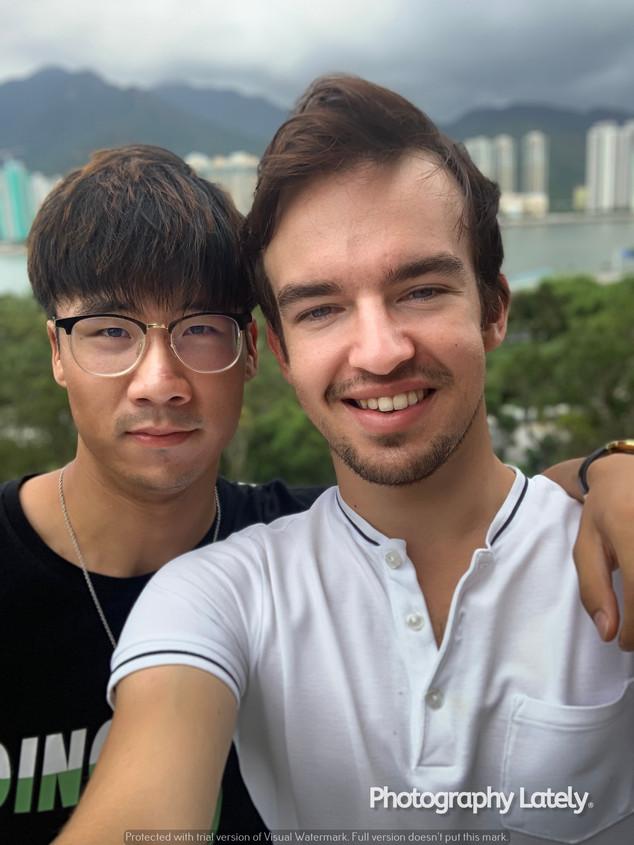 Cometan and Heastward at the Chinese University of Hong Kong