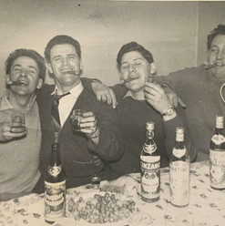 Grandfather of Cometan (second from left