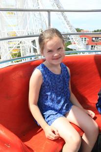 Charlotte Sophia at Ferris Wheel