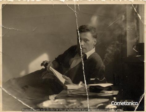 William Warbrick, grandfather of Cometan, in 1959