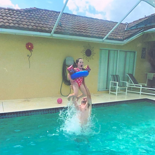 Charlotte Sophia In The Swimming Pool in