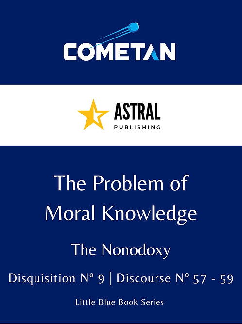 The Problem of Moral Knowledge by Cometan