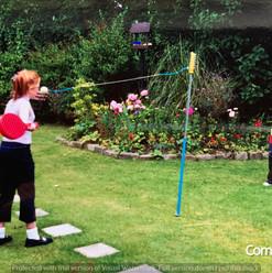 Cometan & Lucia Natalie Playing Swingbal