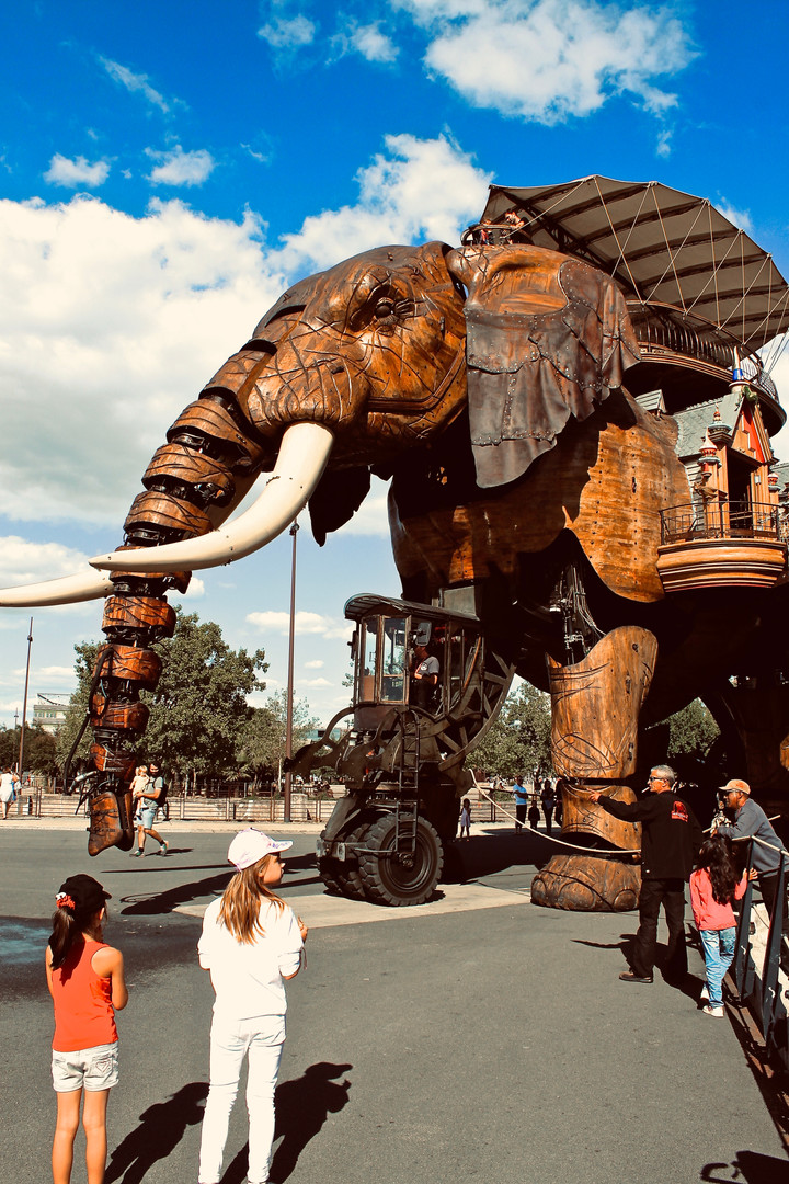 The Great Elephant of Nantes