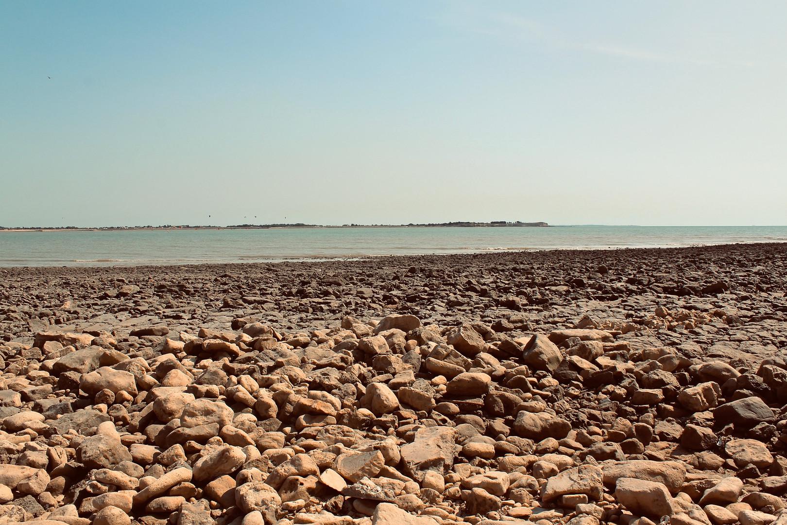 Pebbly Shore