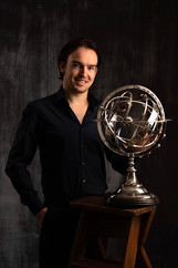 Standing With The Silver Sphere