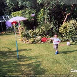 Lucia Natalie & Cometan In The Garden of
