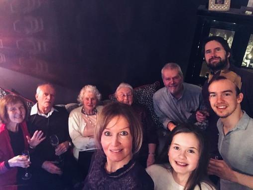 Cometan's Family During Christmas 2018