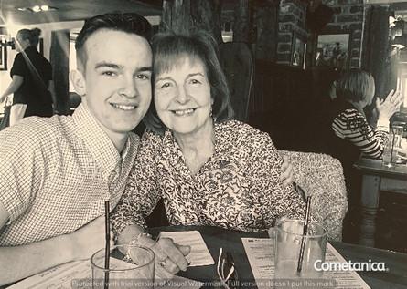 Cometan & His Grandmother, Hilda Warbrick