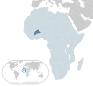 Astronism in Burkina Faso refers to the presence of the Astronist religion in Burkina Faso.