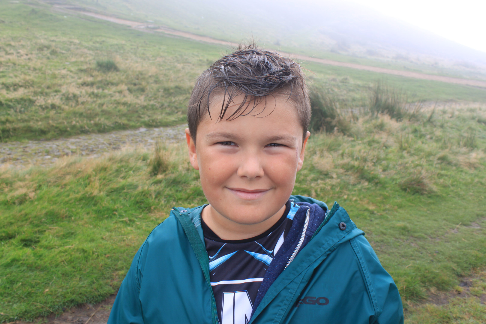 Cometan's Brother, Kieran Taylorian at Rivington Pike, Lancashire