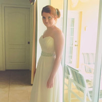Bridesmaid Lucia Natalie in Naples, Flor