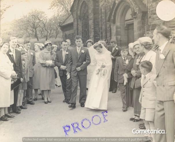 The Wedding of Bill & Hilda Warbrick