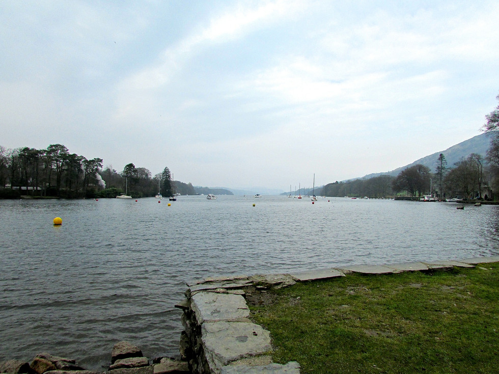 Looking Up Lake Windermere